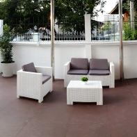 Outdoor Lobby